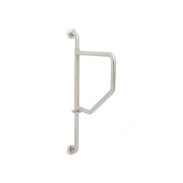 H & H Designer Series Wall to Wall Swing Away Grab Bars