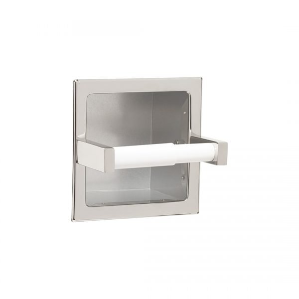 Extra Roll Paper Holder, Recessed