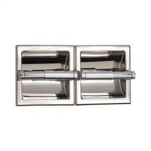 Recessed Double Paper Holder