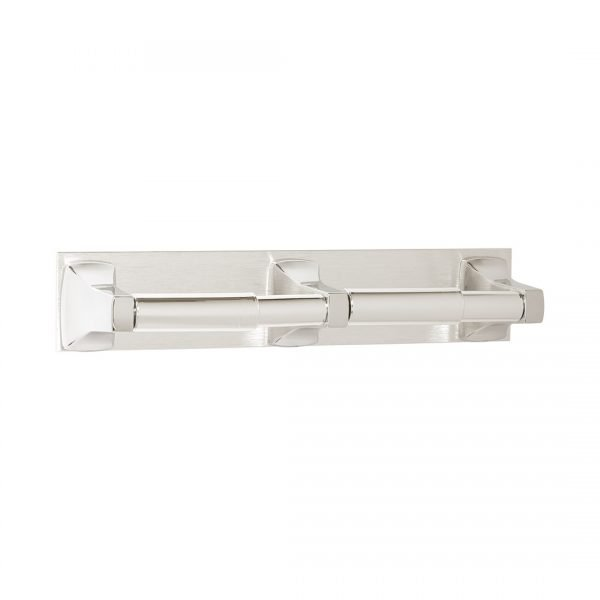 Double Roll Paper Holder, Surface-Mounted