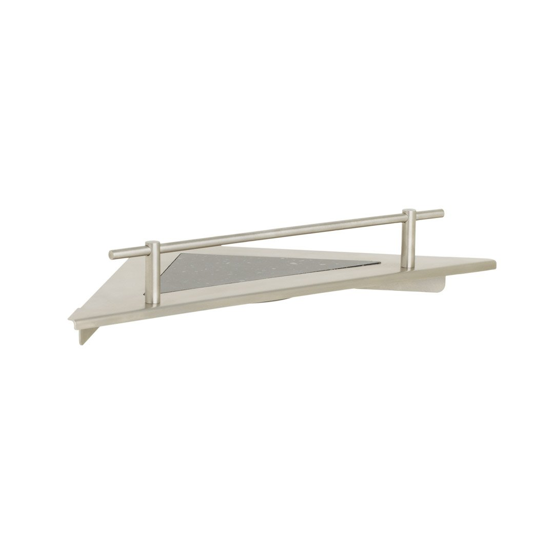 Corner Shower Shelf With Rail Stainless Steel H H Bath And Safety