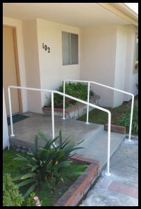 H & H safety railing installation