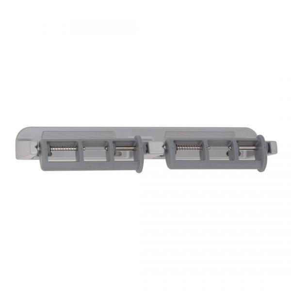 Wall-Mounted Aluminum Dual Paper Dispenser