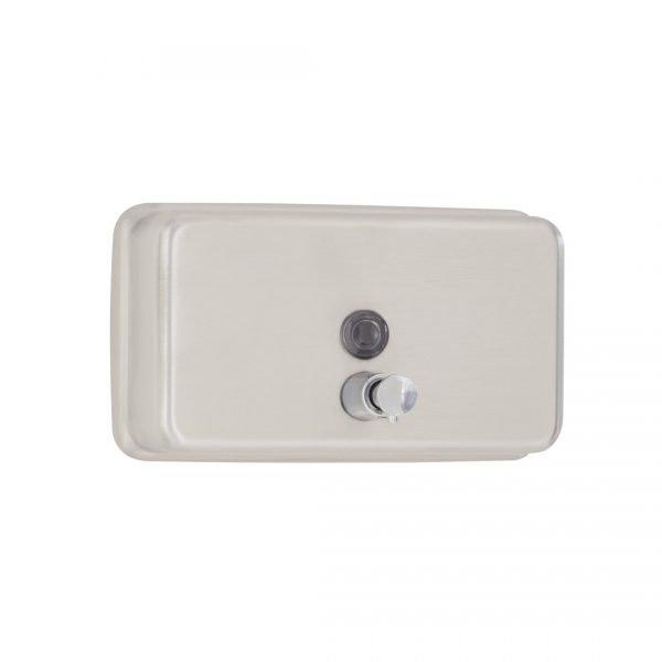 Horizontal Liquid Soap Dispenser, Wall-Mounted