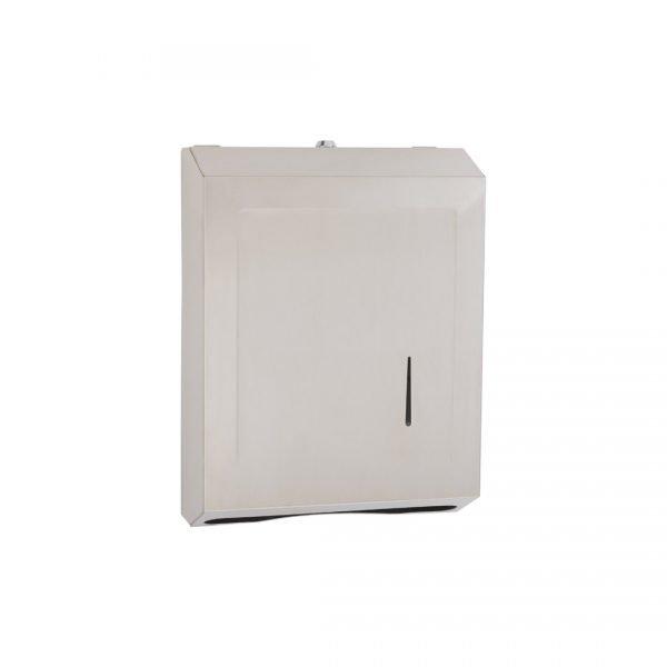 Locking Wall-Mounted Paper Towel Dispenser