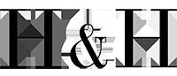 H & H black logo